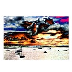 Boats 1 Postcards (Package of 8)