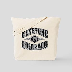 Keystone 1973 Black & Silver Tote Bag