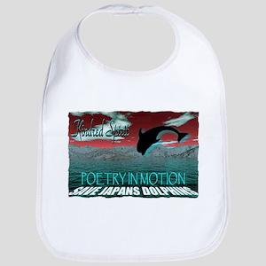 save japans dolphins, kindred Bib