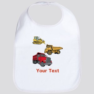 Works Site Vehicles and Text Bib