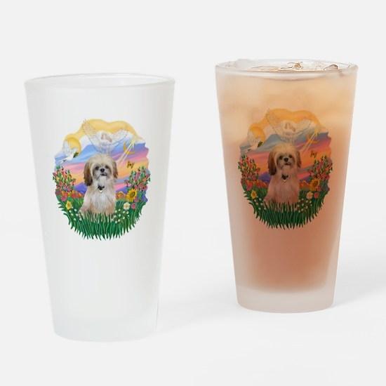 Guardian-Shih Tzu #17 Drinking Glass