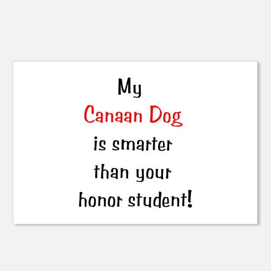 My Canaan Dog is smarter... Postcards (Package of