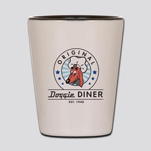 DOGGIE DINER Restaurant Logo #2 Shot Glass