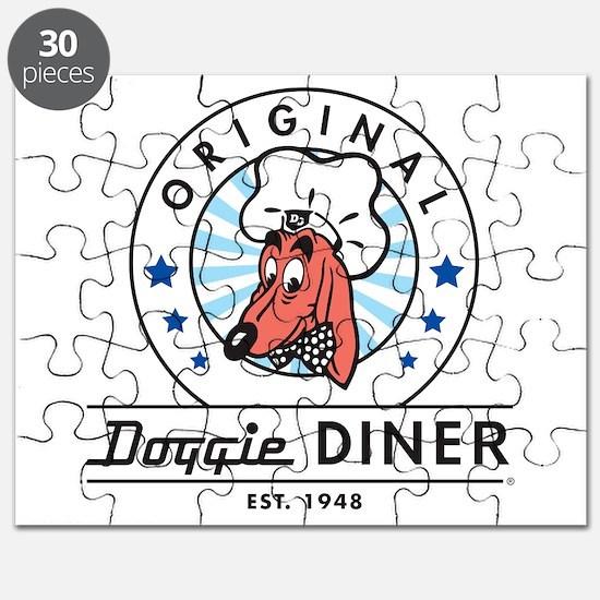 DOGGIE DINER Restaurant Logo #2 Puzzle