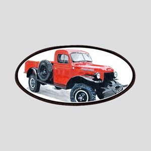 Antique Power Wagon Patches