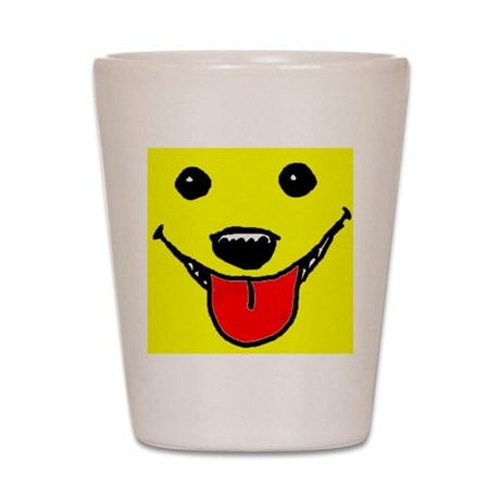 Happy Face Shot Glass