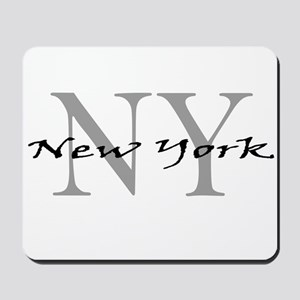 New York thru NY Mousepad