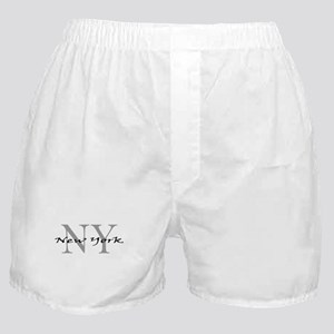 New York thru NY Boxer Shorts