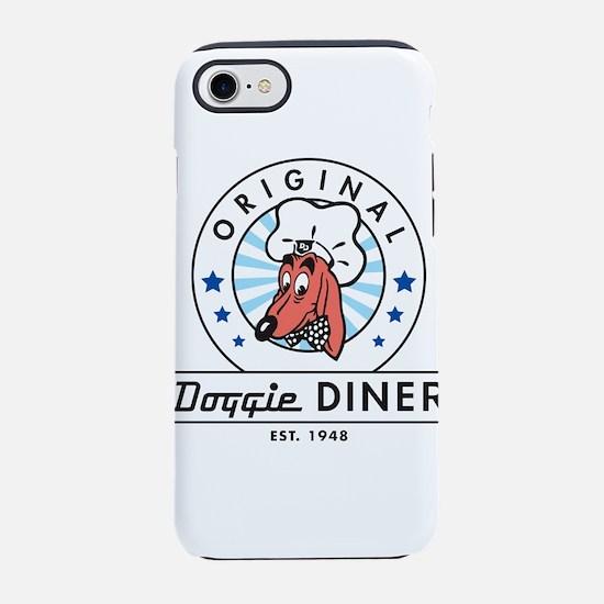 DOGGIE DINER Restaurant Logo # iPhone 7 Tough Case