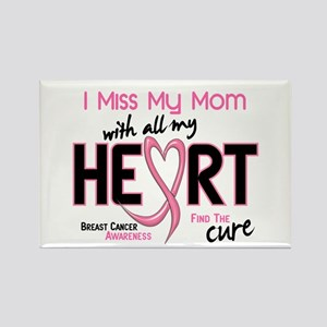 Miss My Mom With All My Heart Breast Cancer Rectan