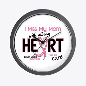 Miss My Mom With All My Heart Breast Cancer Wall C