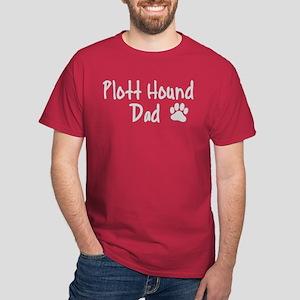 Plott Hound DAD Dark T-Shirt