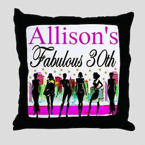 30TH PRIMA DONNA Throw Pillow
