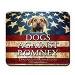 Official Dogs Against Romney Mousepad