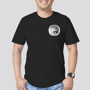 Punxutawney Phil Men's Fitted T-Shirt (dark)
