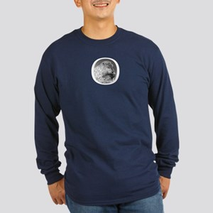 Punxutawney Phil Long Sleeve Dark T-Shirt