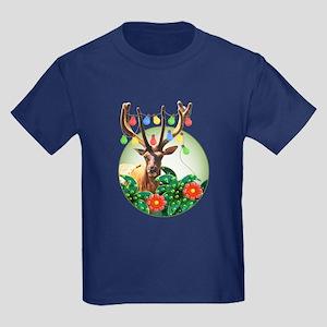 WonderWorld Party Animal Kids Dark T-Shirt