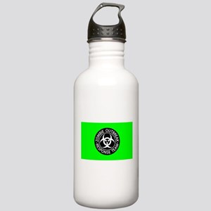 Hot Green Zombies Stainless Water Bottle 1.0L