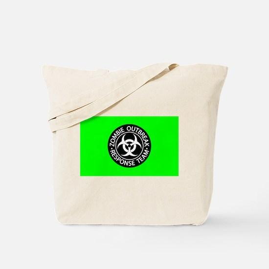 Hot Green Zombies Tote Bag