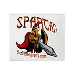 BMV Spartan Throw Blanket