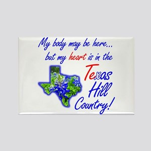 But My Heart's In the Texas Hill Country! Rectangl