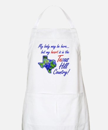 But My Heart's In the Texas Hill Country! Apron