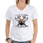 The Real Deal Women's V-Neck T-Shirt