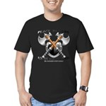 The Real Deal Men's Fitted T-Shirt (dark)