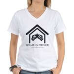 GIP1 Women's V-Neck T-Shirt