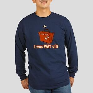 Dumb Dumber Samsonite Long Sleeve Dark T-Shirt