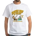 Master Bait Tackle White T-Shirt