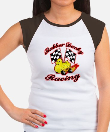 Rubber Ducky Racing Women's Cap Sleeve T-Shirt