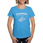 Gardening Helps Women's Dark T-Shirt