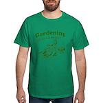 Gardening Helps Green Dark T-Shirt