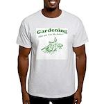 Gardening Helps Light T-Shirt