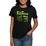P P Plumbing Women's Dark T-Shirt