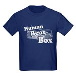 Human Beat Box Kids Dark T-Shirt