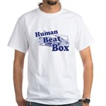 Human Beat Box White T-Shirt