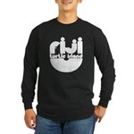 Turtle Island Long Sleeve Dark T-Shirt