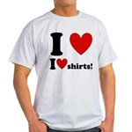 I Love I Heart Shirts Light T-Shirt
