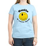 Smile If You're Horny Women's Light T-Shirt