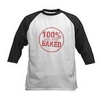 Totally Baked Kids Baseball Jersey