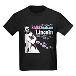 Babebraham Lincoln Kids Dark T-Shirt