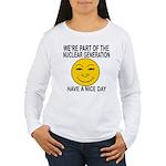 Nuclear Generation Women's Long Sleeve T-Shirt