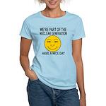 Nuclear Generation Women's Light T-Shirt
