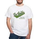 Las Ganjales White T-Shirt