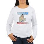 Reagan Smash Women's Long Sleeve T-Shirt