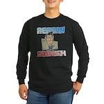 Reagan Smash Long Sleeve Dark T-Shirt
