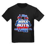 I Like Big Bots Kids Dark T-Shirt
