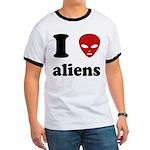I Love Aliens Ringer T